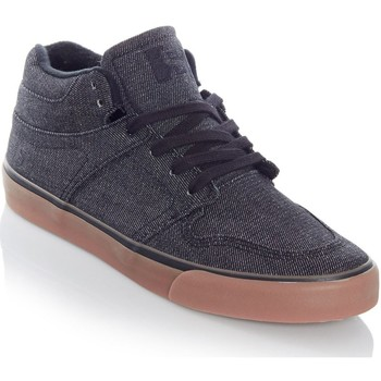 Shoes Men Hi top trainers State Black-Gum Denim Mercer Shoe Black