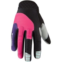 Clothes accessories Women Gloves Madison Rose Red-Imperial Purple 2017 Zena Womens MTB Gloves Pink