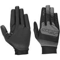 Clothes accessories Men Gloves Alpinestars Black Anthracite 2019 Teton Plus MTB Gloves Black