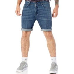 Clothing Men Shorts / Bermudas Globe Stomp Blue Goodstock 2.0 Denim Shorts Blue