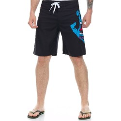 Clothing Men Shorts / Bermudas Santa Cruz Black Screaming Hand Boardshorts Black