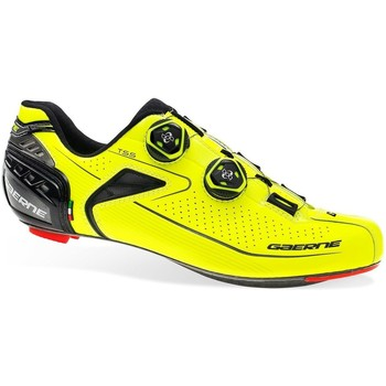 Shoes Cycling  Gaerne Yellow 2018 Composite Carbon Chrono Plus Cycling Shoe Yellow