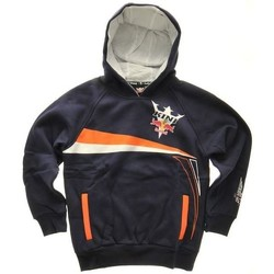 Clothing Boy Fleeces Kini Navy Team Kids Hoody Black