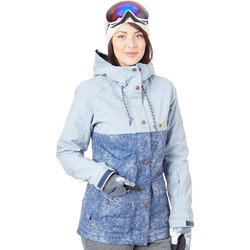 Clothing Women Jackets DC Shoes Cruiser Womens Snowboarding Jacket Blue