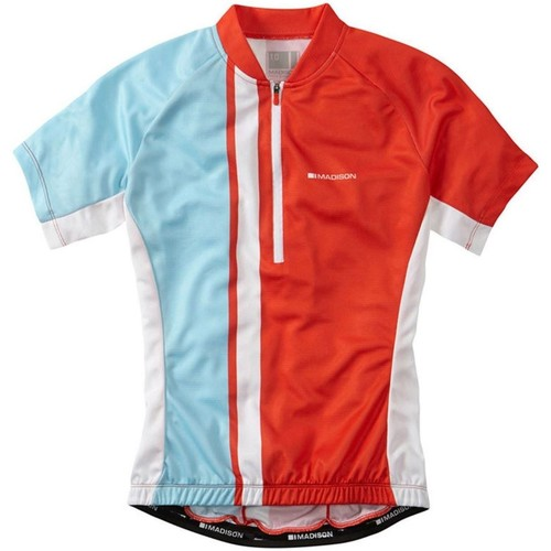 Clothing Women Short-sleeved t-shirts Madison 2016 Tour Womens Short Sleeved Cycling Jersey Red