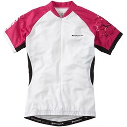 Clothing Women Short-sleeved t-shirts Madison 2016 Keirin Womens Short Sleeved Cycling Jersey White