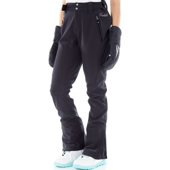 Clothing Women Cargo trousers Protest Redworth Softshell Womens Snowboarding Pants Black