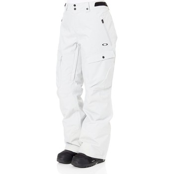 Clothing Women Cargo trousers Oakley Insulated 15K 2 Layer Womens Snowboarding Pants Grey