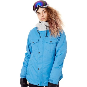 Clothing Women Jackets Oakley Charlie 2.0 BioZone - Insulated Blue