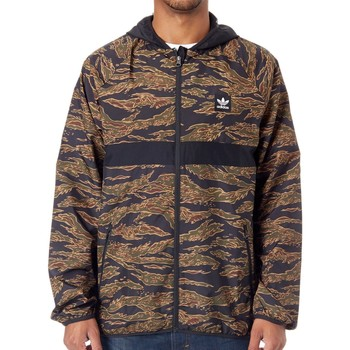 Clothing Men Jackets adidas Originals Camo BB - Packable Jacket Brown