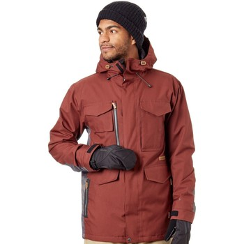 Clothing Men Jackets Sessions Ransack Insulated Snowboarding Jacket Red
