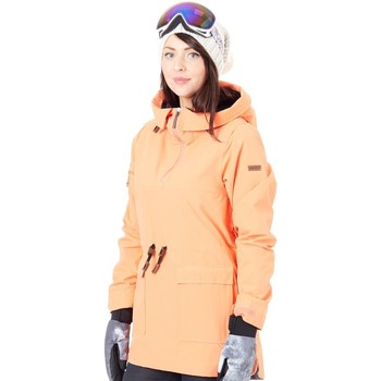 Clothing Women Jackets Nikita Hemlock Insulated Anorak Womens Snowboarding Jacket Pink