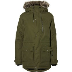 Clothing Women Jackets O'neill Hybrid Explorer Parka Womens Snowboarding Jacket Black