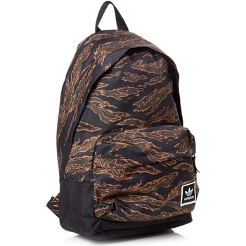Bags Rucksacks adidas Originals Multicolour-Brown Aop Backpack - Default Brown