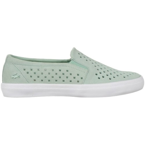 Shoes Women Slip-ons Lacoste Gazon Slip ON 216 1 Caw Green