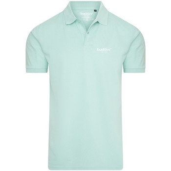 Clothing Men short-sleeved polo shirts Ballin Est. 2013 Basic Polo Green