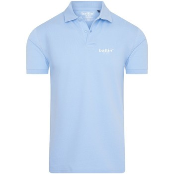 Clothing Men short-sleeved polo shirts Ballin Est. 2013 Basic Polo Blue