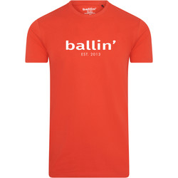 Clothing Men short-sleeved t-shirts Ballin Est. 2013 Basic Shirt Red