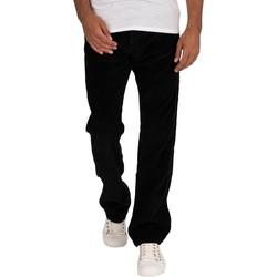 Clothing Men Jeans Lois New Dallas Jumbo Cord Jeans black
