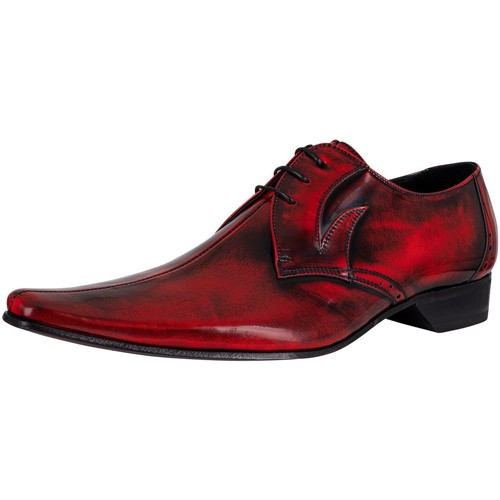 Shoes Men Derby Shoes & Brogues Jeffery-West Derby Leather Shoes red