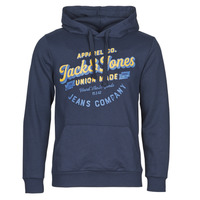 Clothing Men Sweaters Jack & Jones JJEJEANS Marine