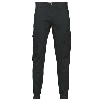 Clothing Men Cargo trousers Jack & Jones JJIPAUL Black