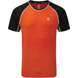 Clothing Men Short-sleeved t-shirts Dare 2b CONFLUX T-Shirt Orange