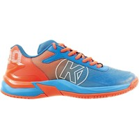 Shoes Boy Fitness / Training Kempa Chaussures enfant  Attack 2.0 bleu/rouge fluo