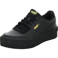 Shoes Men Low top trainers Puma Carina Lift Black