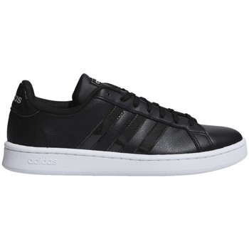 Shoes Children Low top trainers adidas Originals Team Court Black