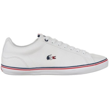 Shoes Men Low top trainers Lacoste Lerond White,Red