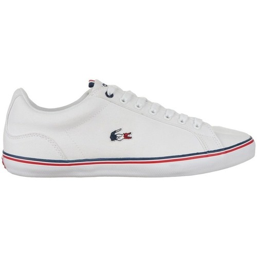 Shoes Men Low top trainers Lacoste Lerond White, Red