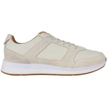 Shoes Men Low top trainers Lacoste Joggeur Beige
