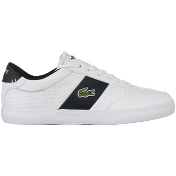 Shoes Men Low top trainers Lacoste Courtmaster White, Black