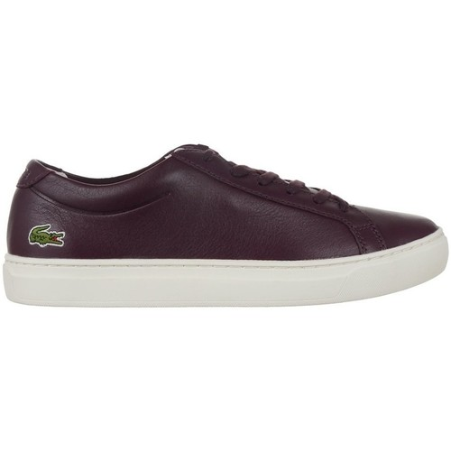 Shoes Women Low top trainers Lacoste L 12 Brown
