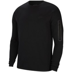 Clothing Men Sweaters Nike Tech Fleece Crew Black