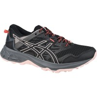 Shoes Women Low top trainers Asics Gelsonoma 5 Black, Pink