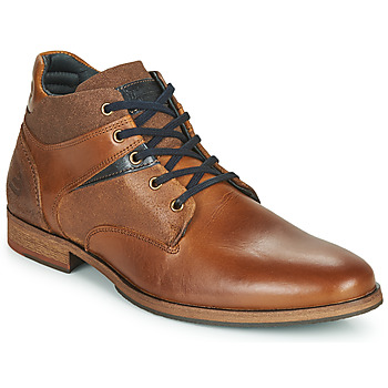 Shoes Men Mid boots Bullboxer EKIROS Brown