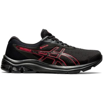 Shoes Men Running shoes Asics Gelpulse 12 Gtx Black, Red