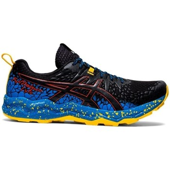 Shoes Men Running shoes Asics Gelfujitrabuco Lyte Black, Blue, Yellow