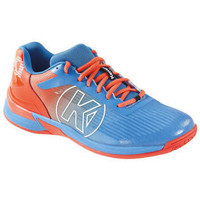 Shoes Men Multisport shoes Kempa Chaussures  Attack Three 2.0 bleu/rouge fluo