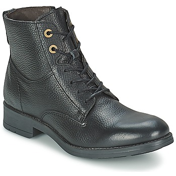 Shoes Women Mid boots Casual Attitude GUINELLE Black