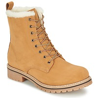 Shoes Women Mid boots Casual Attitude EFUTIFE BEIGE