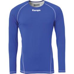 Clothing Men Long sleeved tee-shirts Kempa Maillot de compression ML  Attitude bleu roi