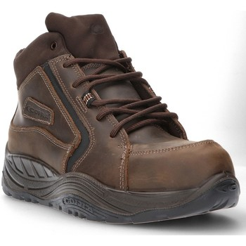 Shoes Men Hi top trainers Calzamedi SAFETY BOOT COFRA ESALEN S3 SAGUYS M BROWN