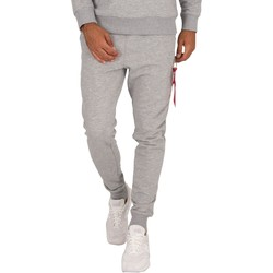 Clothing Men Tracksuit bottoms Alpha X-Fit Slim Cargo Joggers grey