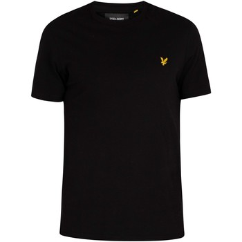 Clothing Men Short-sleeved t-shirts Lyle & Scott Crew Neck T-Shirt black