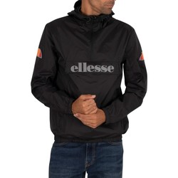 Clothing Men Macs Ellesse Acera Pullover Jacket black