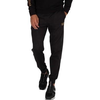 Clothing Men Tracksuit bottoms Emporio Armani EA7 Logo Joggers black
