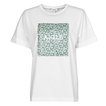 Clothing Women Short-sleeved t-shirts Aigle RAOPTELIB White
